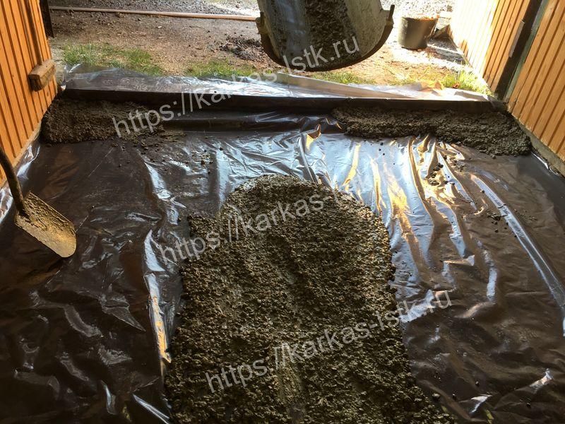 залить бетонную стяжку с гидроизоляцией цены