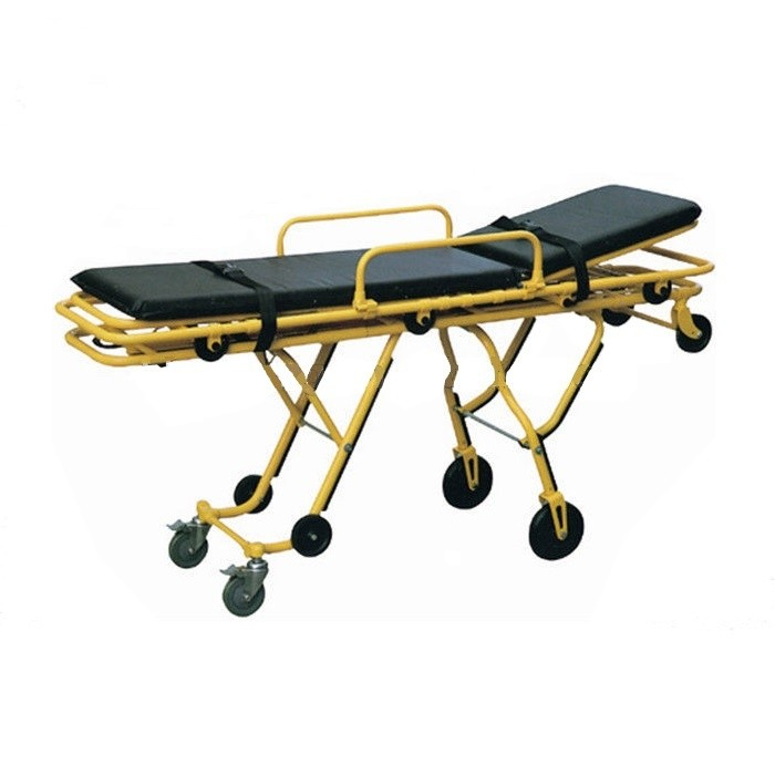 Носилки каталка для авто скорой помощи на колёсиках, тележка-каталка В-ТМТ