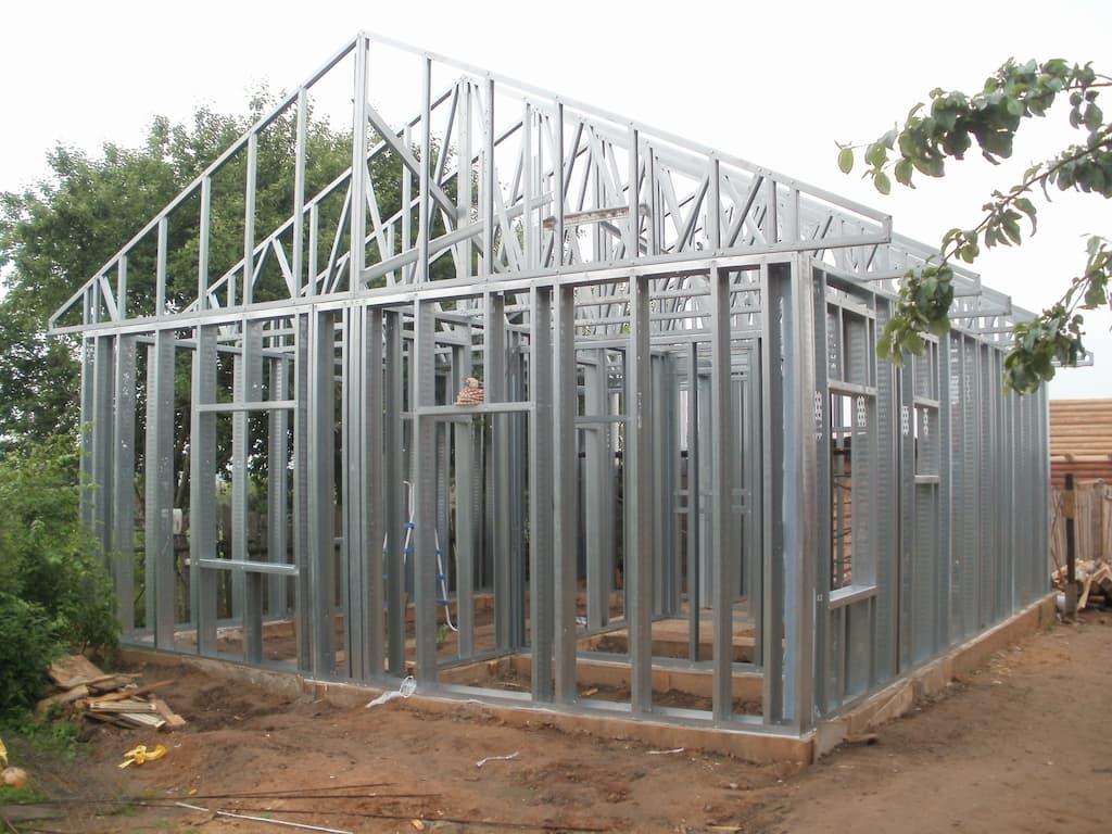 каркасное строительство домов лстк
