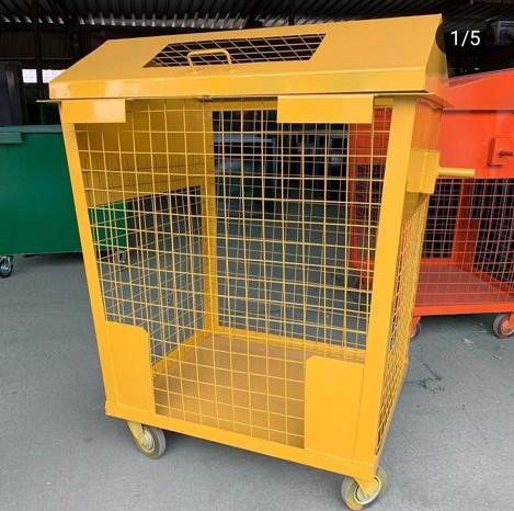 контейнер рсо для картона и бумаги во двор