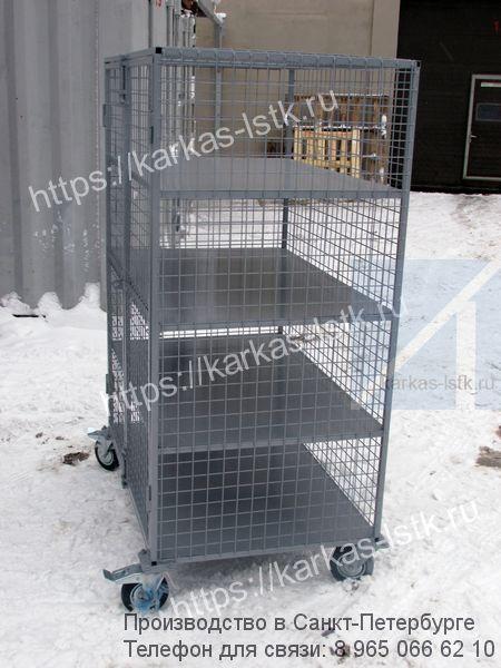 шкафы металлические сетчатые и оборудование для цехов