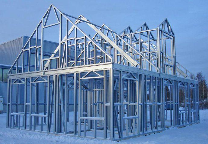 построить дом на основе лстк