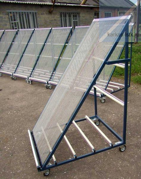 подкатная пирамида для перевозки стекла