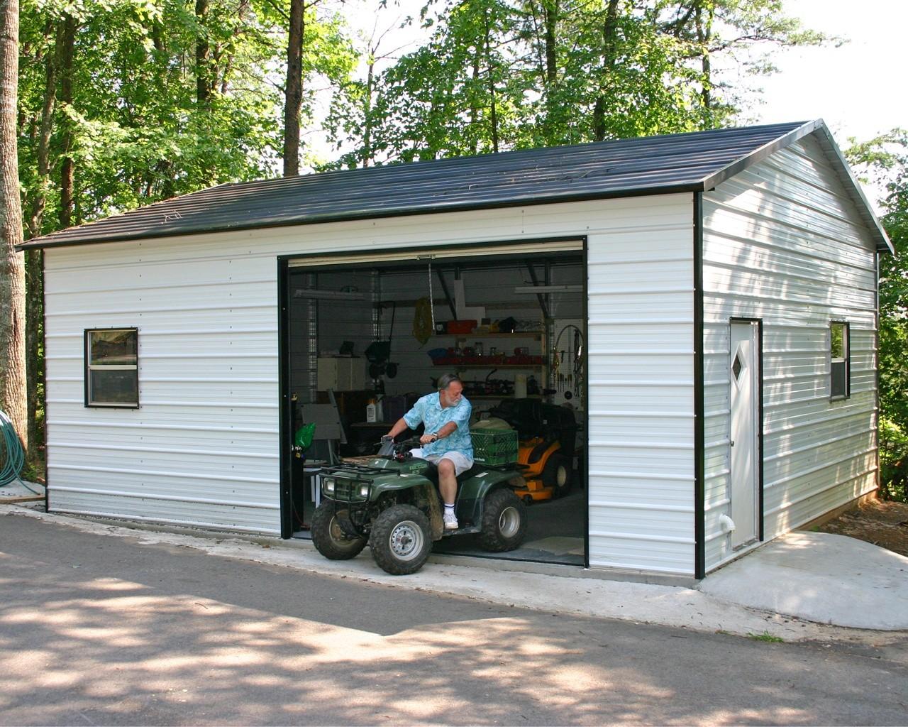 гараж для квадроцикла дачный