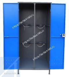 уличный шкаф для двух кислородных баллонов