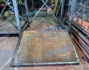 монтаж металлического стеллажа для пресс-форм