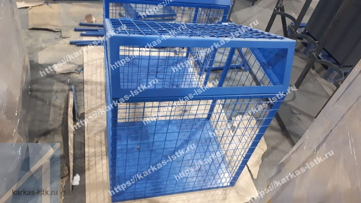 металлический контейнер для сбора отходов